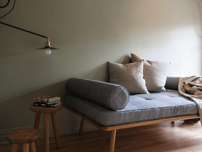 Day bed in living room