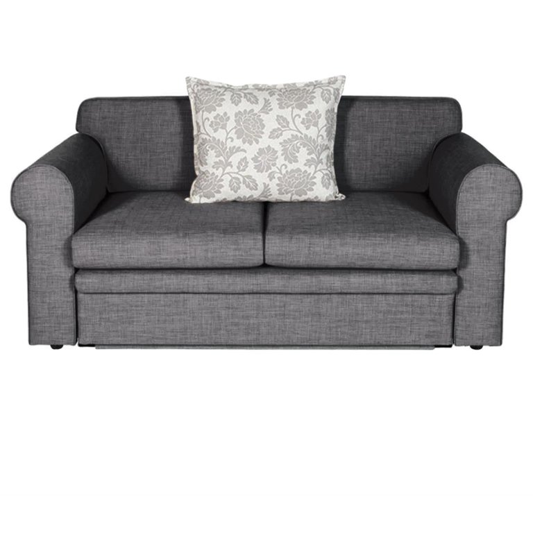 Zazzi Double Sleeper Couch (Dark Grey)