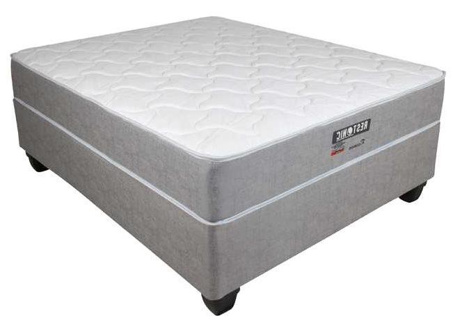 Restonic three-quarter beds