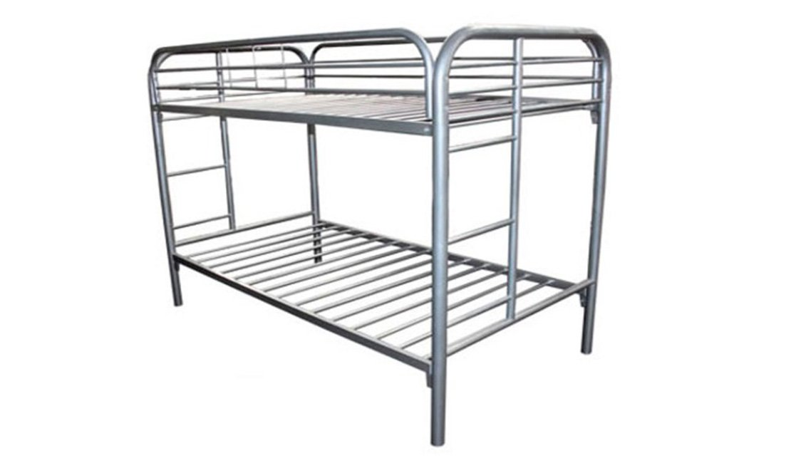 steel frame bunk bed