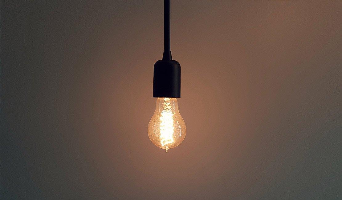 Warm tone lightbulb