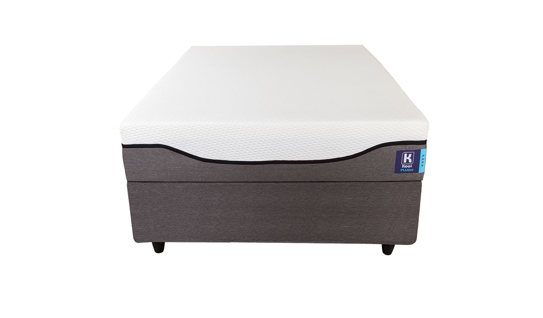 Kooi Pure Plush double beds are great for side sleepers.