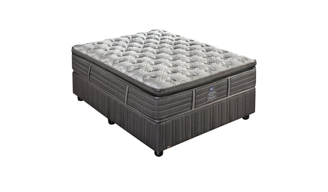 Sealy Crown Jewel Zita Medium bed boasts a beautiful pillowtop and offers excellent support.