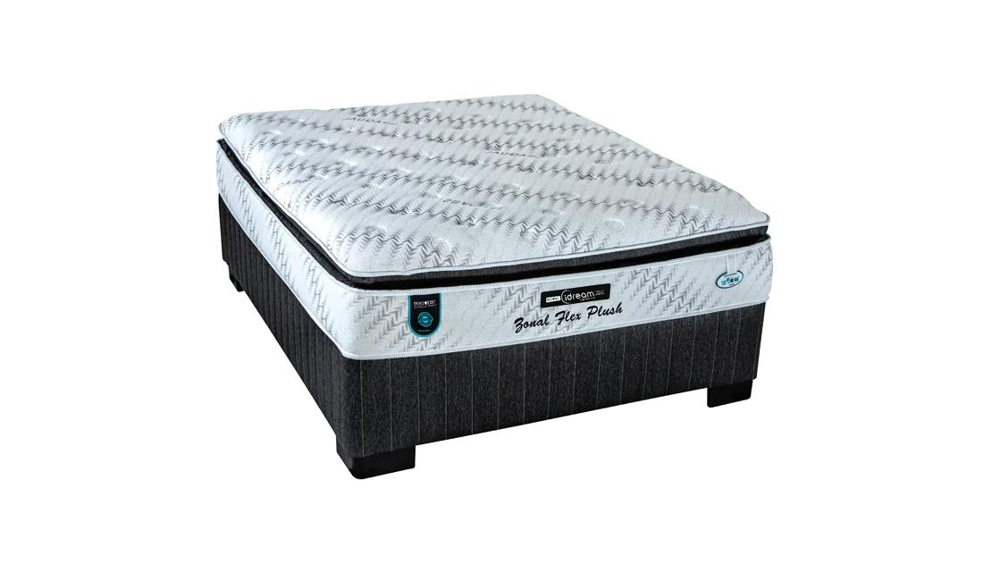 Restonic Zonal Flex Plush Bed