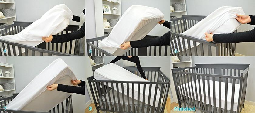 An easy to wash bed is going to make those first few months a little less stressful.