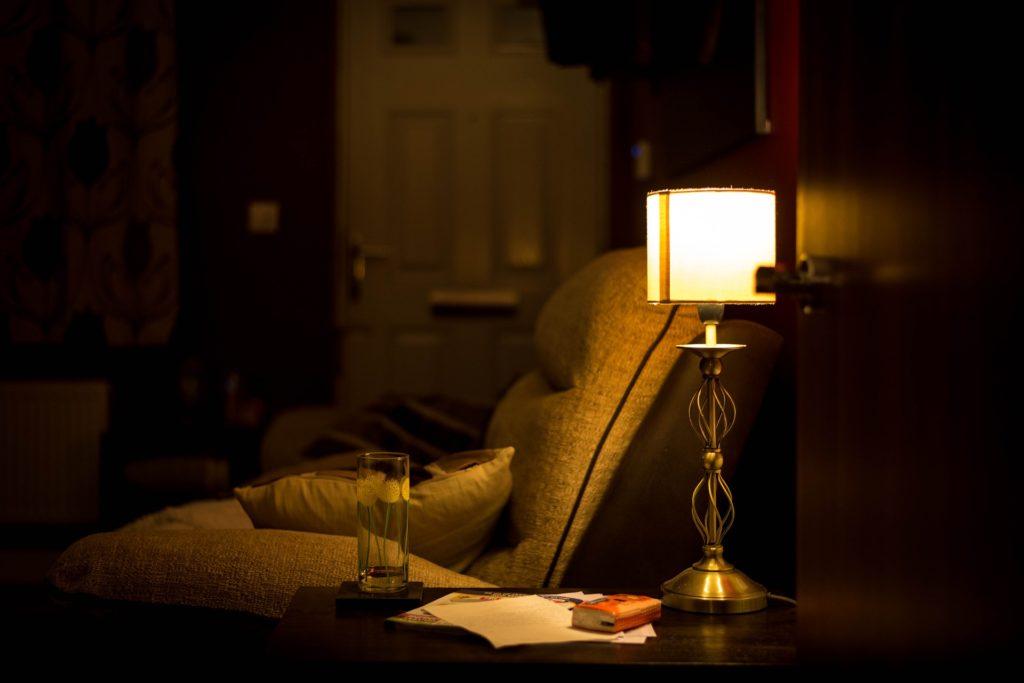 A comfortable environment can aid sleep