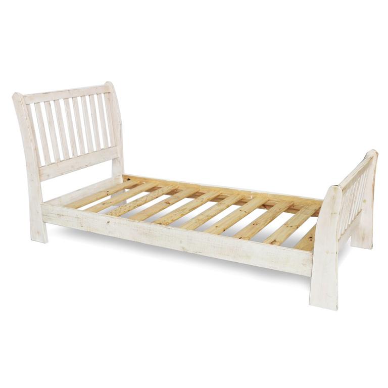 Beach House Sleigh Bed - Single