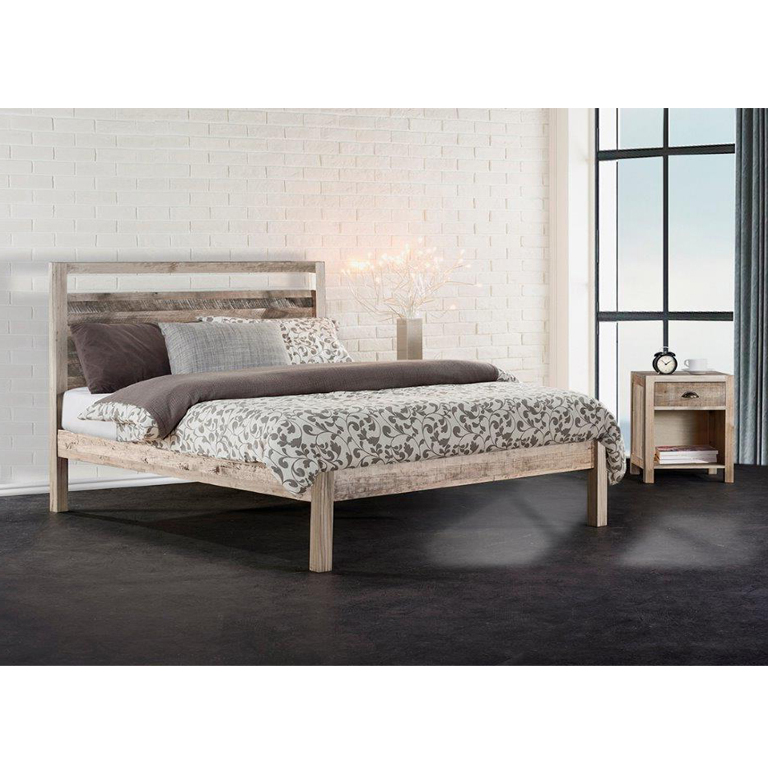 Cayman Bed (Driftwood) - Queen Bed