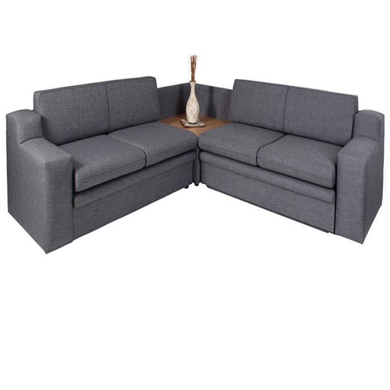 Delft 3pc Sleeper Couch (Double, Corner, Double)