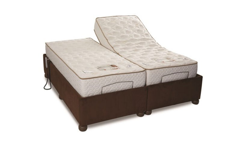 You could always treat yourself to one of our reclining beds.