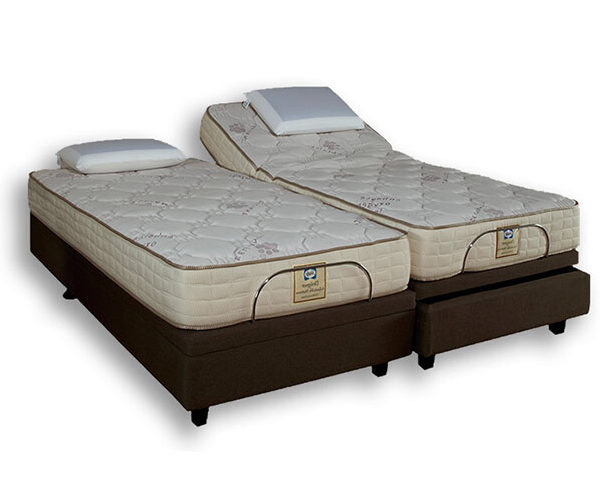Sealy Posturepedic Gel Memory Motion Bed - King XL Bed