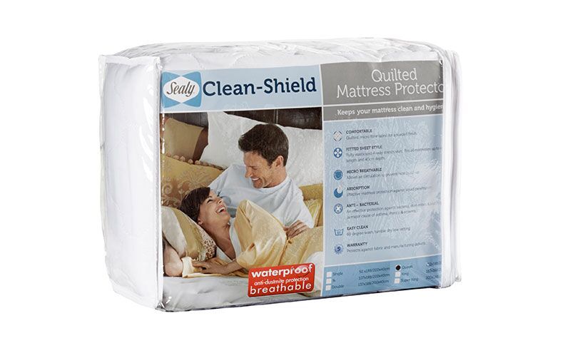 Sealy Quilted Mattress Protector - Double XL Bed