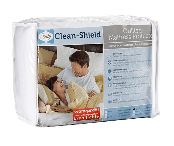 Sealy Quilted Mattress Protector - Single Bed