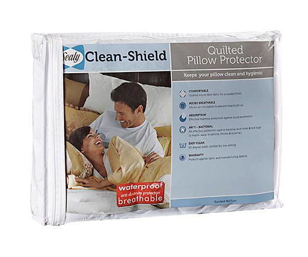 Sealy Quilted Pillow Protector - Standard