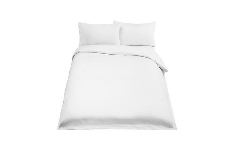 Basel 500 Thread Count Cotton Duvet Cover - Double