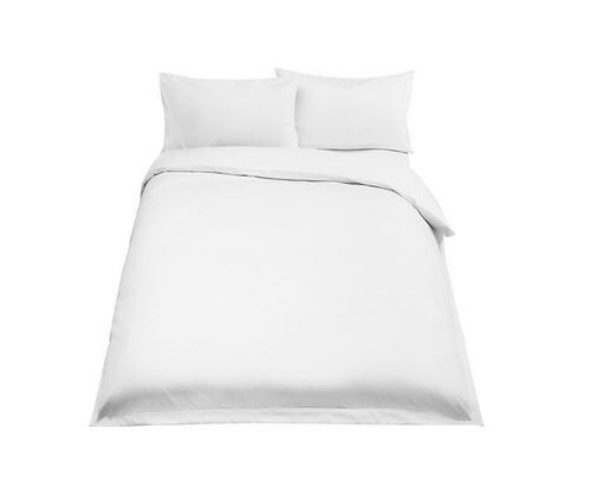 Basel 500 Thread Count Cotton Duvet Cover - Three Quarter