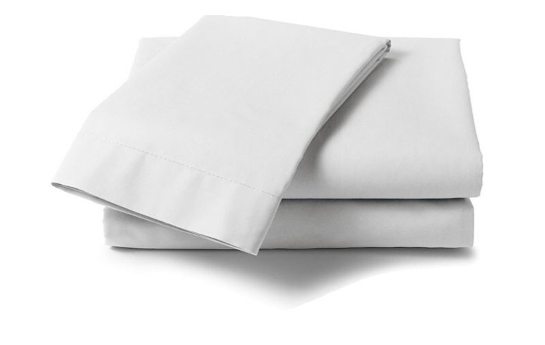Cotton 250 Thread Count Fitted Sheet - Queen