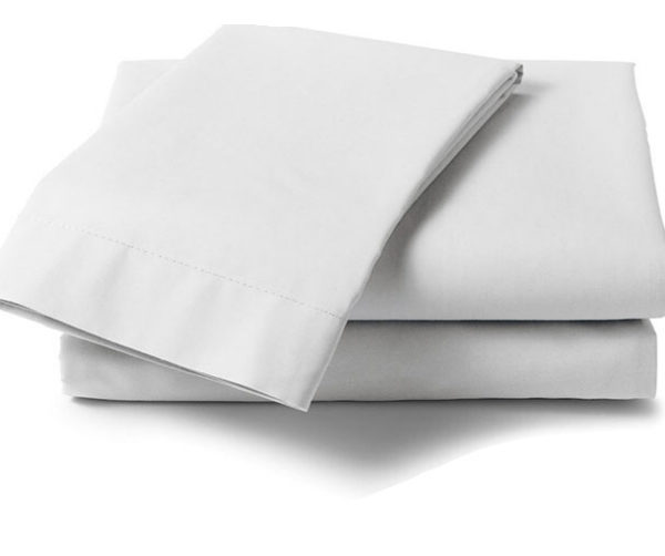 Cotton 250 Thread Count Fitted Sheet - Double