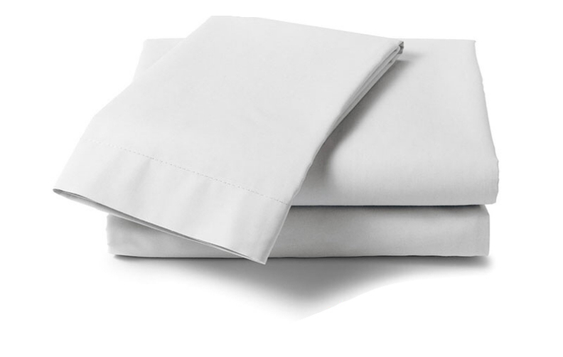 Cotton 250 Thread Count Fitted Sheet - Three Quarter
