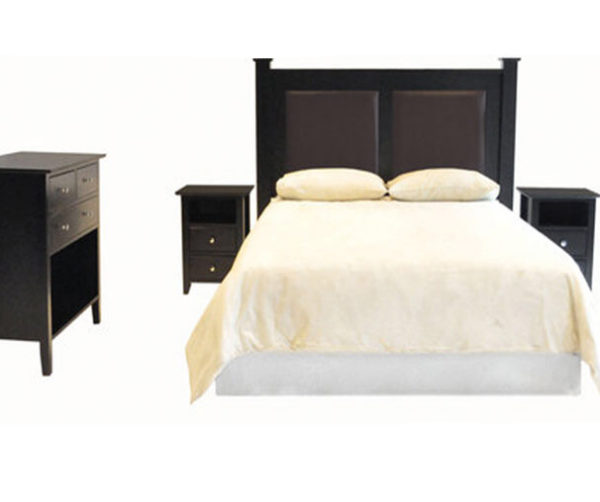 Nottingham Leather Headboard (Double Bed)