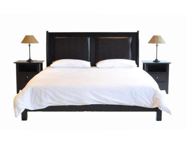 Paris Leather Bed (Queen Bed)