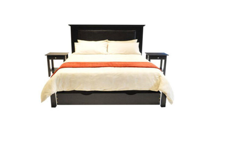 Oslo Leather Bed (King Bed)