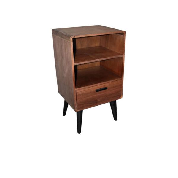 Jesse Display Pedestal - 2 Shelf 1 Draw