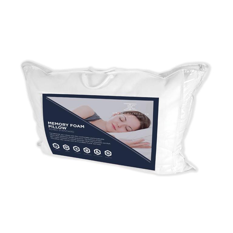 Linen Company Memory Foam Pillow