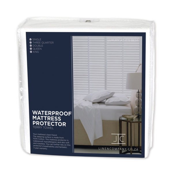 Linen Company Waterproof Terry Mattress Protector