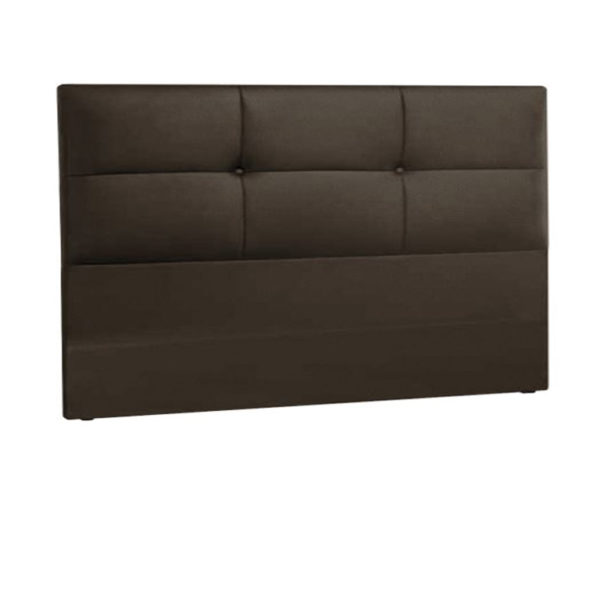 Lourini Luxe Headboard (Brown) - Queen