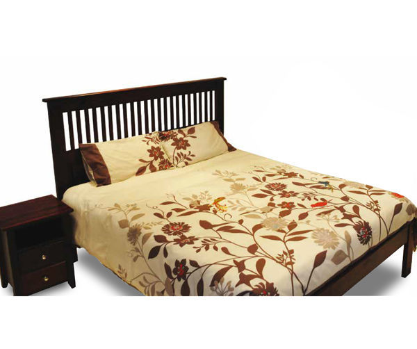 Maluti Headboard & Pedestal (Queen Bed)