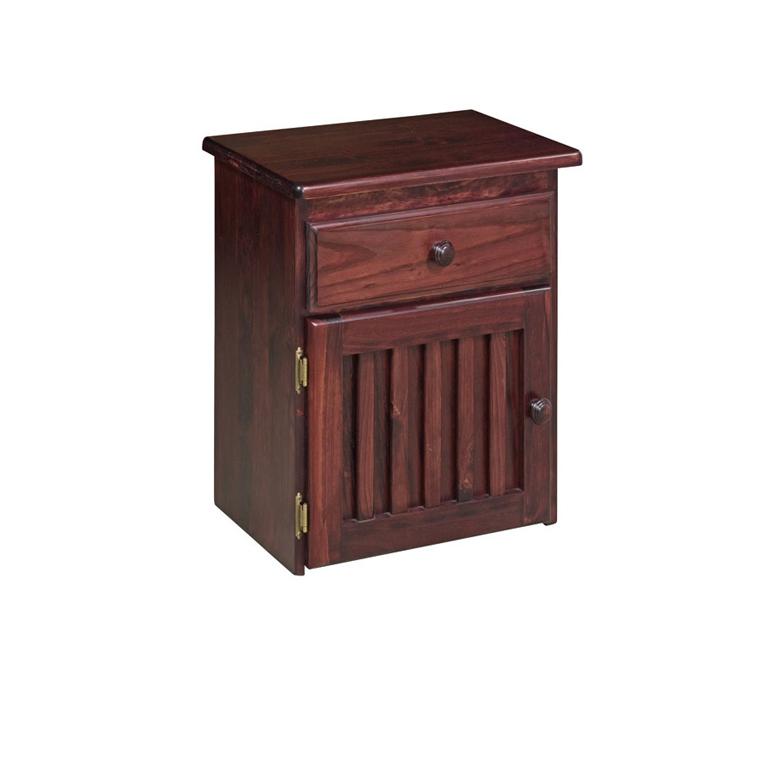Maluti Door & Drawer Pedestal (Chestnut)