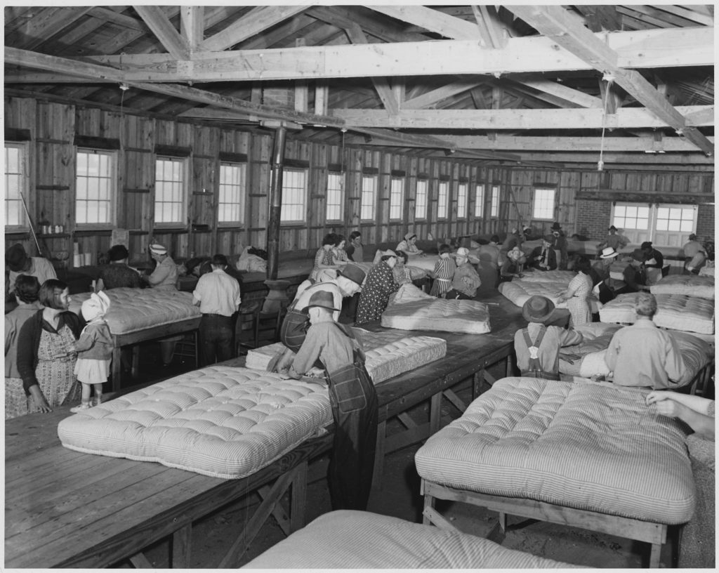 Beds being made in the early times
