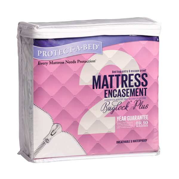 Protect·A·Bed Mattress Encasement (35-38cm) - Double