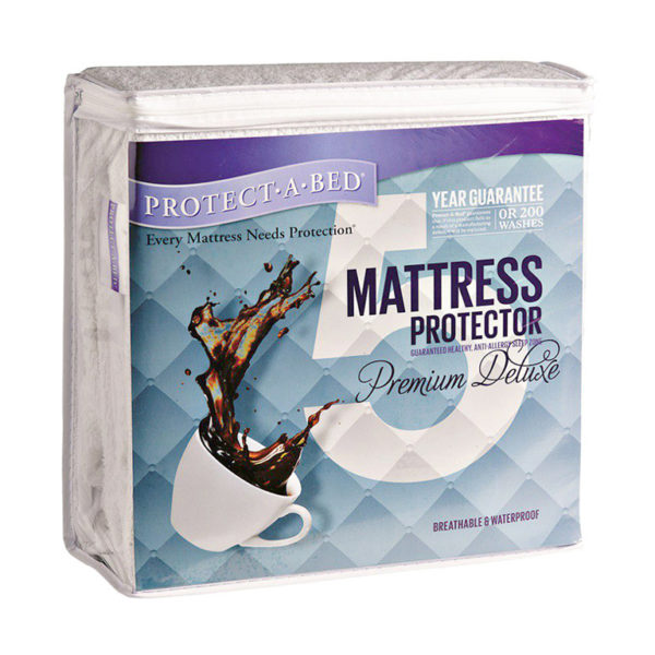 Protect·A·Bed Premium Deluxe Mattress Protector - Three Quarter
