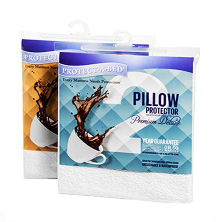 Protect·A·Bed Premium Deluxe Pillow Protector - Standard