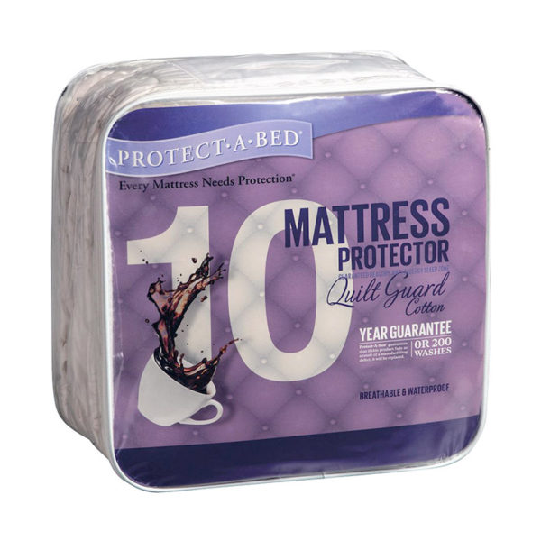 Protect·A·Bed Quilt Guard Mattress Protector - Double