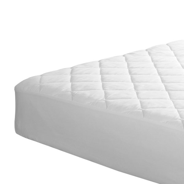 Quilted Mattress Protector - Double