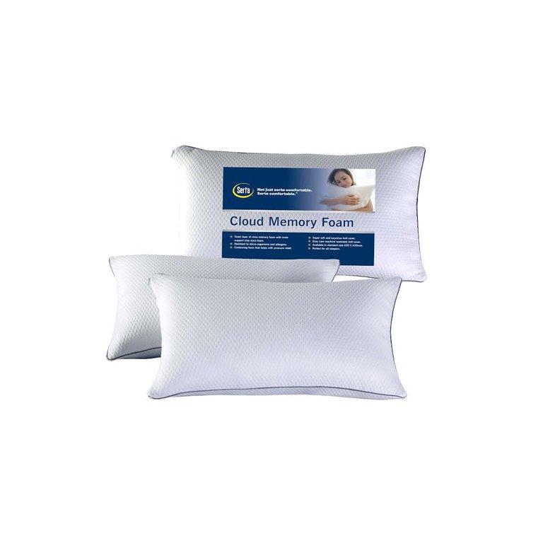 Serta Cloud Memory Foam Pillow For Sale