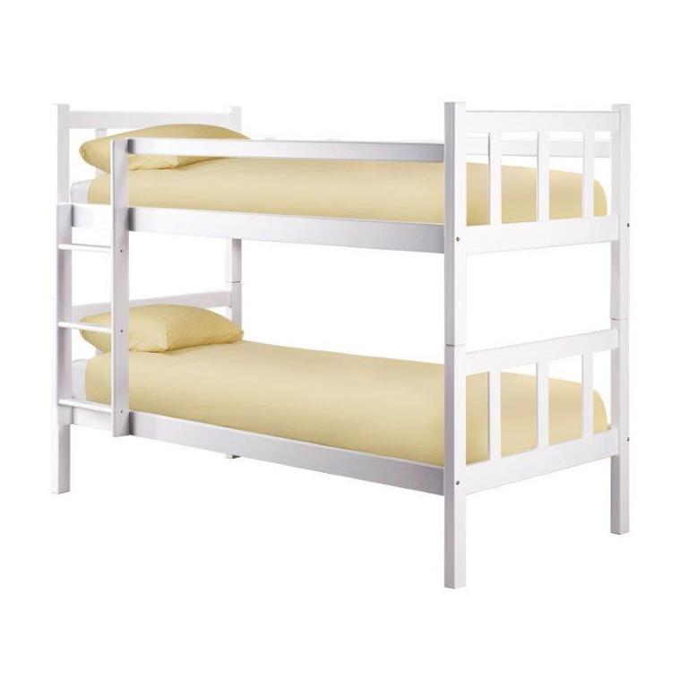 Taryn Bunk Bed (White)