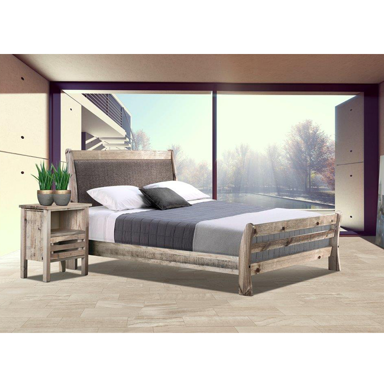 Tortuga Bed (Driftwood) - King Bed
