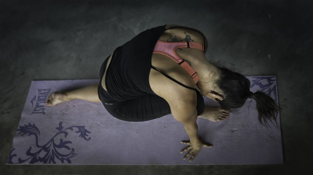 Yoga can help you to recharge