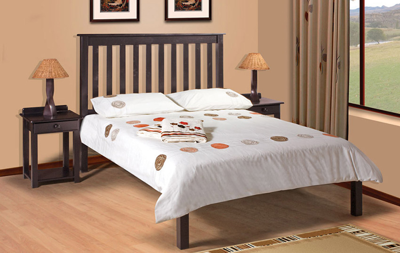 Charlene Low Footend Bed (Double Bed)