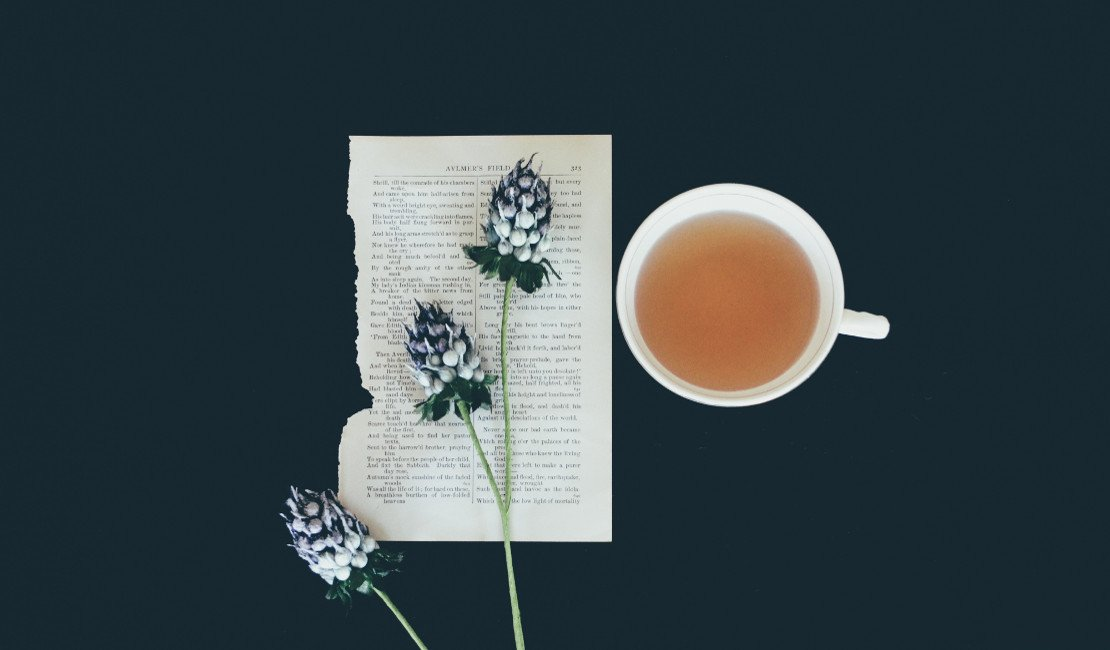 Drink a relaxing cup of lavender tea before bed.