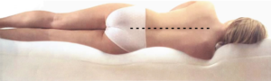A memory foam bed will allow your body to have its natural curves+