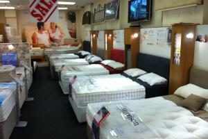 The Mattress Warehouse has affordable mattress options.