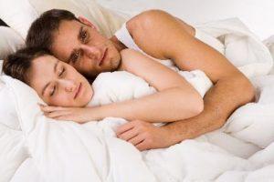 Don't want to keep my partner awake...