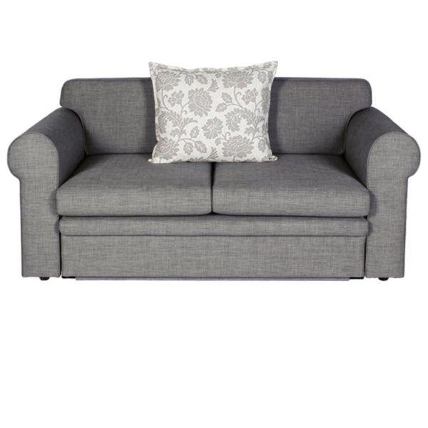 Zazzi Double Sleeper Couch (Light Grey)