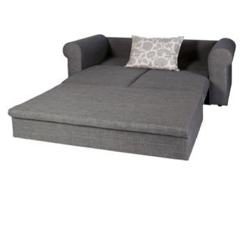 Zazzi double sleeper couch pull out light grey